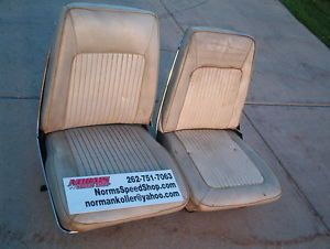 Mopar Bucket Seats 1968 1969 1967 Dart A Body Barracuda Plymouth Dodge Valiant