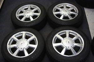 "4 Factory Cadillac cts 17"" Wheels Blizzak Winter Snow Tires"