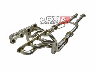 OBX Exhaust Header Full Length 86 87 88 89 90 91 92 93 Mustang GT LS 5 0L M T