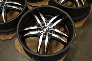"RARE 20"" Forgiato Reventon Vizzo 245 Staggered Wheels Rims 20x8 5 20x10 Asanti"