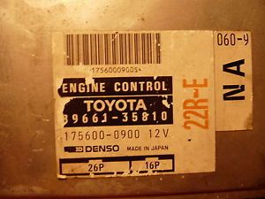 1993 Toyota Pickup 22RE 2 4L ECU ECM Engine Computer 89661 35810