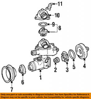 Mercedes Benz MB 0159972348 Engine Coolant Thermostat Gasket