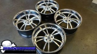 "Mercedes Benz s Class Strut 21"" Wheels 21x9 21x10 Rims S450 S550 asanti Forgiato"