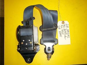86 97 Nissan Pathfinder D21 Pickup Truck Left Driver Side Seat Shoulder Belt