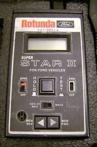 Rotunda Ford Super Star II EEC IV Mecs Scan Tool Diagnostic Tester