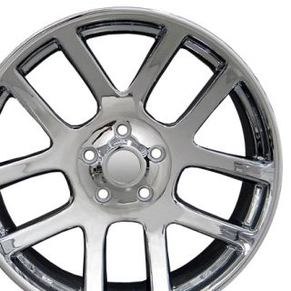 "22"" Chrome SRT Wheel 22x10 Rim Fits Dodge RAM 1500 2012"