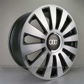 "18"" Audi A8 Style Wheels Rim for A5 S6 A4 S4 B7 RS4 B5 B6 VW Jetta Passat Bettle"