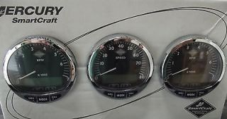 Mercury Smartcraft Dual Engine Tach Speedo Kit Part 79 889223K31 Brand New