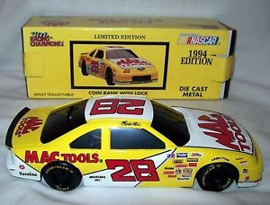Ernie Irvin 28 Mac Tools NASCAR Ford Bank RC 1994