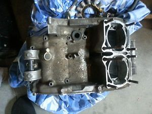 Yamaha Banshee YFZ350 Crank Case Bottom End Engine No Chain Break