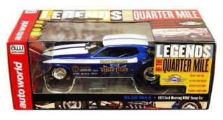 Auto World Set 4 Funny Cars Liberman Leong Schmidt Condit Slot Car HO Scale