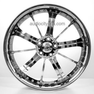 "22"" AC 315 Forged 3pc Wheels Rims for BMW Camaro Range Rover Mercedes"