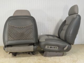 Chevy Silverado GMC Sierra Yukon Truck Suburban Tahoe Front Leather Heated Seats