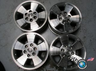 "Four 05 09 Toyota Tacoma Factory 17"" Wheels Rims 4Runner Tundra Sequoia T100"
