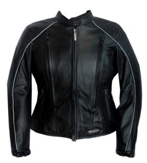 Harley Womens FXRG Midweight Leather Jacket 98520 05VW Obsolete