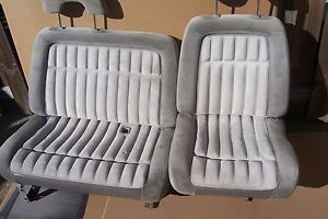88 94 Chevy Silverado 1500 2500 3500 Sierra Pickup Truck Front Seat 60 40 Gray