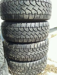 4 32x11 50x15 Radial A w Steel Belted Tires 32x11 50R15 A T All Terrain 31 32 33