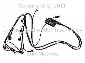 Mercedes W140 300SE 3 2 91 92 Engine Wiring Harness Fuel Injection Cable Wires