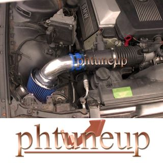 Blue BMW 540 540i 740 740i 740IL 4 0 4 0L 4 4 4 4L RAM Air Intake Kit Systems