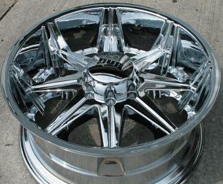 "Dub Big Homie 22"" Chrome Rims Wheels Dodge RAM 2500"