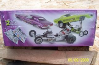 AMT Ertl Model Kit 21796P Dodge Challenger Funny Car Limited gms Customs Hobby