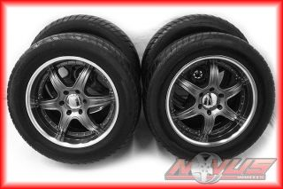 "20"" Aftermarket Liquid Metal Escalade Chevy Tahoe GMC Yukon Denali Wheels Tires"