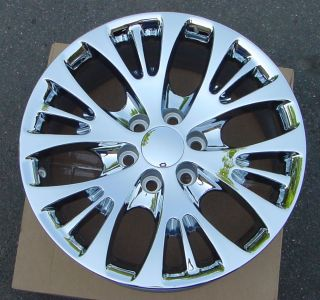 "20"" Chevy GMC Cadillac Factory Chrome Wheels with Brand New Tires"