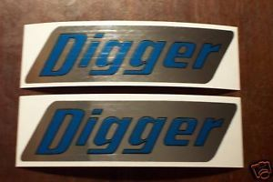 1969 Rupp Digger Decals Minibike Mini Bike