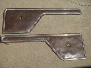Door Panel XLT Wood Inserts Ford Pickup Truck 1973 1974 1975 1976 1977 1978 1979