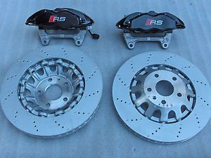 Audi RS3 ttrs RSQ3 Brembo 4PISTONS Front Brake Set with Discs 370mm Pads
