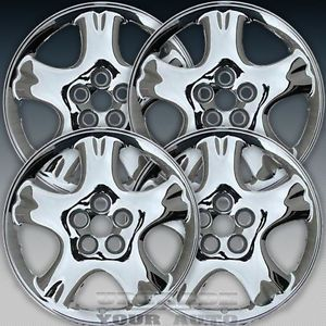 2001 2002 PT Cruiser 16x6 Factory Replacement Chrome Alloy Wheel Set of 4