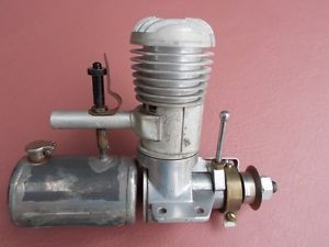1938 Bunch 049 Mighty Midget Ignition Model Airplane Engine Vintage Gas Car