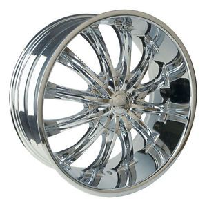 26 inch Borghini B15 Wheels Rims Tires Fit Chevy Cadillac GMC Old School Cars