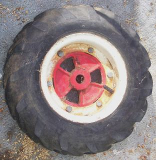 Vintage Troy Bilt Horse Tiller Two Piece Wheels AG Lug Tires