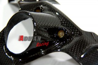 Ducati Panigale 1199 Carbon Fiber Fibre Key Guard Cover Fairings