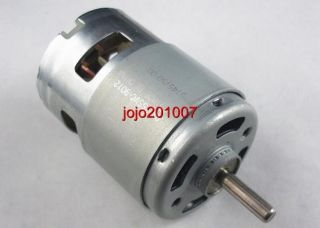 1pc 755 Motor High Speed Large Torque Electric Tool DC Motor for Hair Dryer