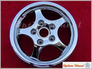 "16"" Chrome Porsche 911 Carrera Factory Wheel Rim Boxster Cayman 67204"