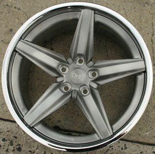 Dub Lace Y636 20 x 10 Brushed Black Rims Wheels Volkswagen Touareg