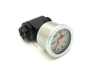 ★ Joker Machine Honda CB750 Oil Pressure Gauge Assembly • Black • 12 005B ★