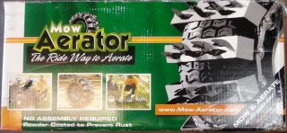 Mow Aerator Lawn Garden Tractor Tire Lawn Aerator Tool 2 Pack