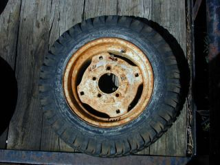 44  Suburban Early Years Riding Lawn Mower Rear Tire Wheel 6 12