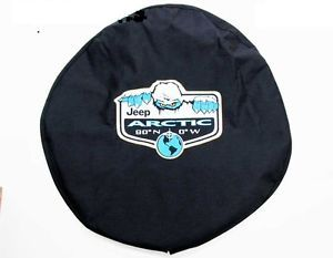 New 2012 Jeep Wrangler Arctic Edition Spare Tire Cover Mopar