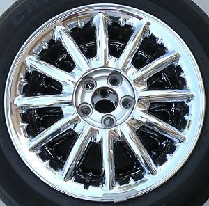 1 Chrysler Sebring Convertible Sedan Chrome Alloy 16 inch Wheel Rim 12 Spoke