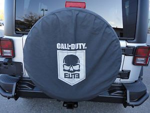 1997 2014 Jeep Wrangler Call of Duty MW3 Elite Cod Spare Tire Cover Mopar