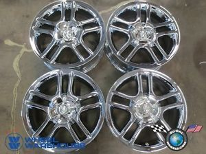 Four 00 05 Toyota Celica Factory 15 Chrome Wheels Rims 69387 Outright Sale
