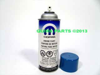 Mopar Performance Engine Paint Turquoise New Genuine P4120752AB