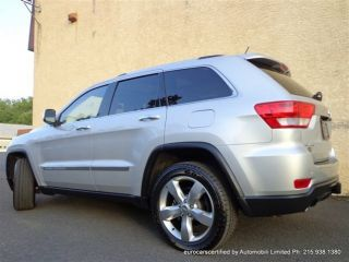 2011 Jeep Grand Cherokee Overland Warranty Pano Roof 20 inch Navigation
