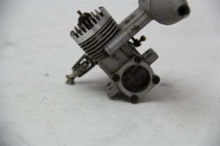 OS Max 10 Model Airplane Engine with OS 761 Muffler Attachment Parts Repair