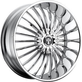"26"" Dub Suave Wheel Set 26x9 5 Chrome Rims rwd 5 6 Lug 26inch Wheels"