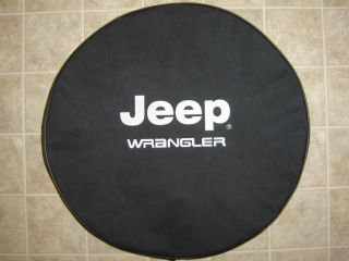 Sparecover® Brawny Series Jeep® Wrangler Tire Cover 30 Heavy Black Denimvinyl